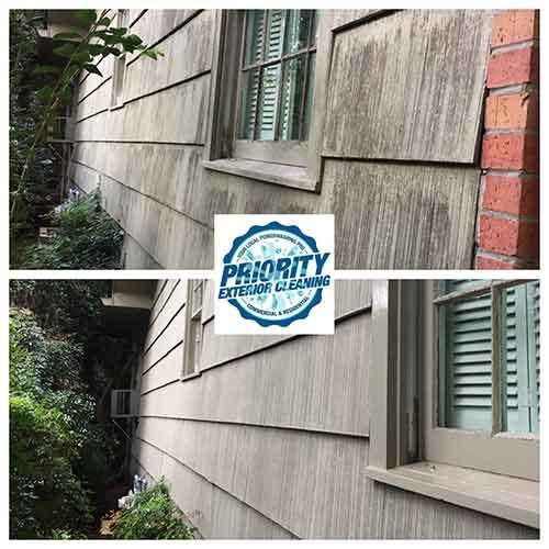 Image: Priority Exterior Cleaning, LLC. Residential Exterior Surface Cleaning to Remove Mold & Mildew