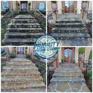 Decorative Stone Cleaning